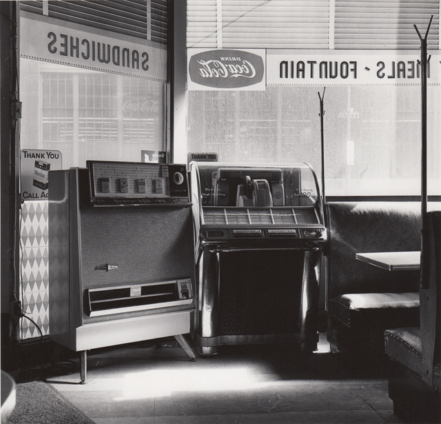 Verbazingwekkend Ed Sievers | Untitled (jukebox in diner) (c. 1960's) | Available for FZ-64