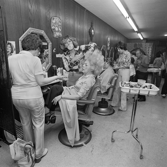 Meryl Meisler, 'Mom Getting her hair Teased at Besame Beauty Salon, North Massapequa, NY. June 1979', 2016, Undercurrent Projects
