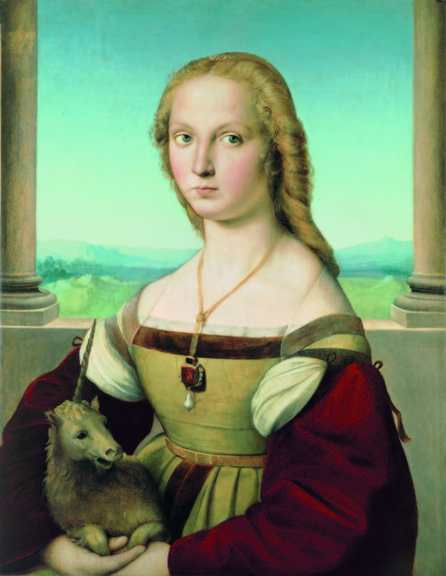 , 'Portrait of a Lady with a Unicorn,' ca. 1505, Legion of Honor