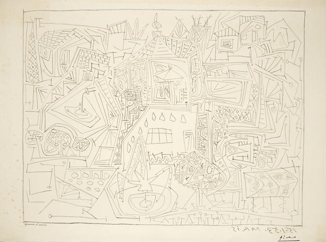 Pablo Picasso, 'Jardins à Vallauris (B. 733; M. 236)', 1953, Sotheby's