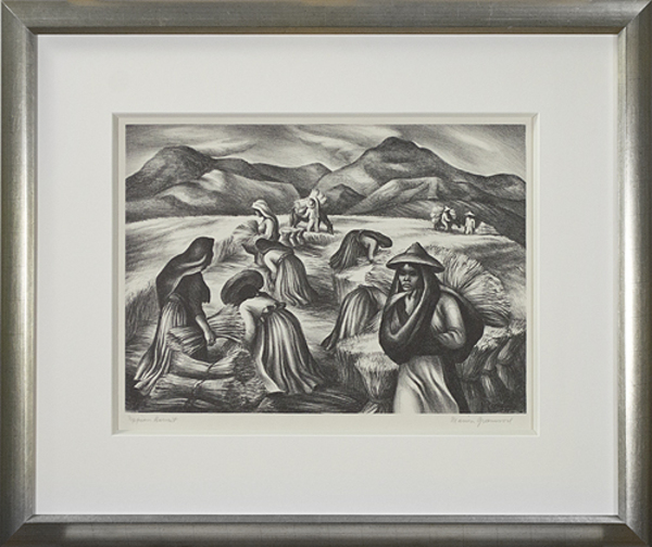 , 'Mexican Harvest  ,' ca. 1930, David Barnett Gallery