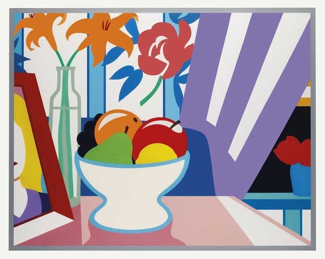 Tom Wesselmann, 'Still Life with Lilies and Mixed Fruit', 1998, Graeme Jackson