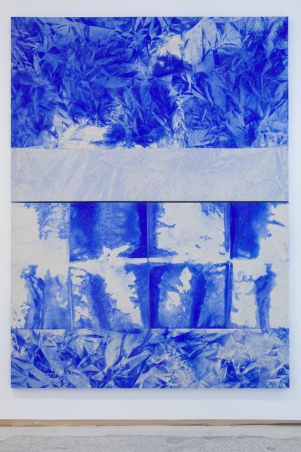 Mette Tommerup, 'Horizon Seam (Horizontal Diptych)', 2017, Emerson Dorsch