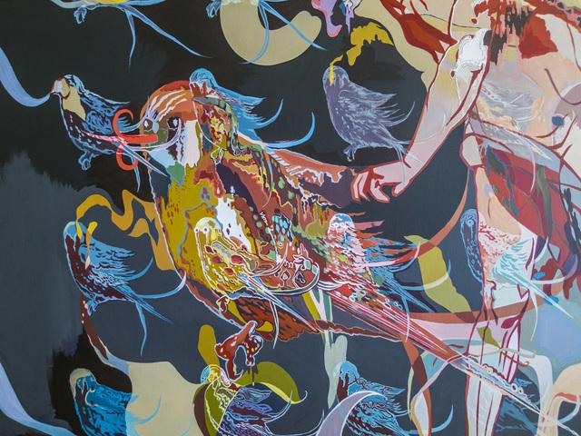 , 'Pangaea Ultima I, fragment,' 2015, Gridchinhall