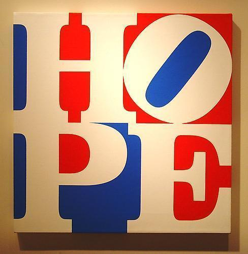 , 'HOPE W/R/B,' 2008, Vertu Fine Art