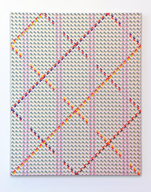 Paul Muguet, 'Petate No.3', 2018, Painting, Acrylic enamel on canvas, Galería RGR