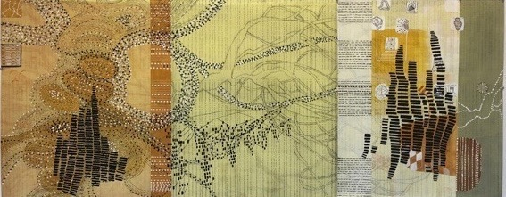 Sarah Amos, 'One Thousand Wings', 2008, Heather Gaudio Fine Art