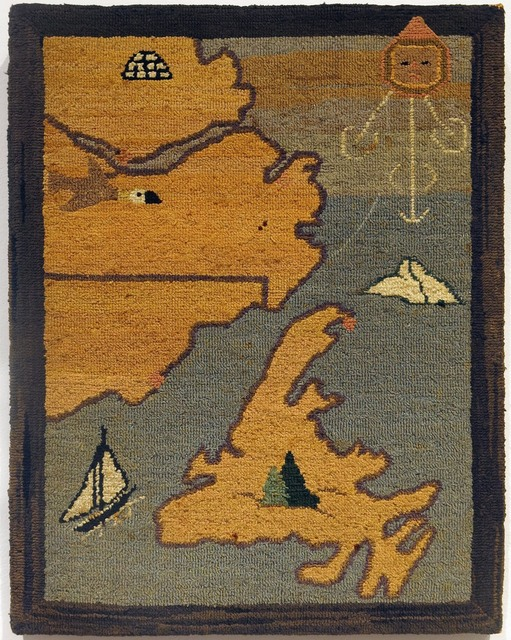 , 'Map of Labrador,' ca. 1936, Edward Thorp Gallery