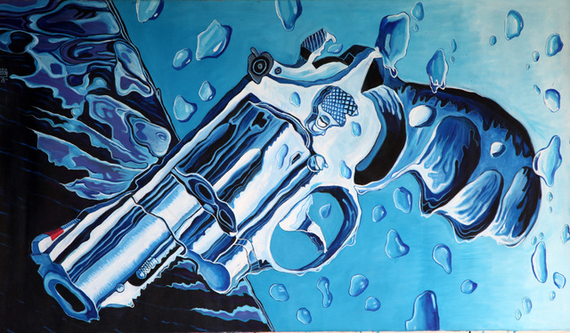 , 'Melting Gun,' 2011, THEO Art Projects