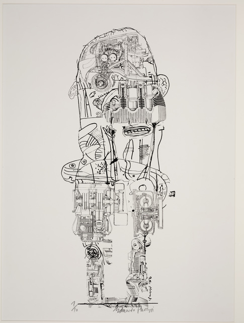 Eduardo Paolozzi, 'Standing Figure', 1956, Dallas Museum of Art