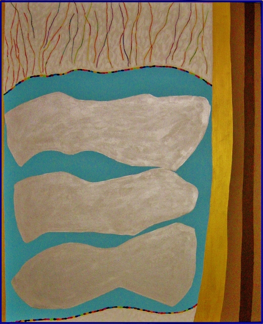 , 'Refining the Silver,' 2017, Carter Burden Gallery