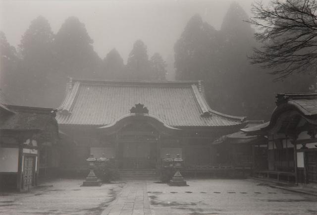 Paul Caponigro, 'Temple Mt. Hiei-San #2, Kyoto, Japan', 1976, Pucker Gallery