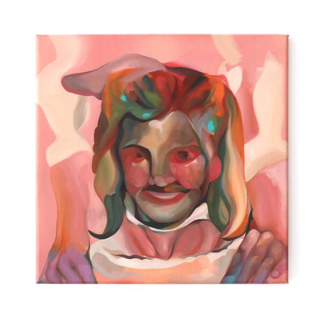 , 'Cherub Mask,' 2017, HARPY
