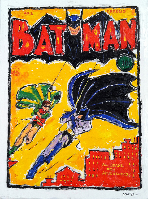 , 'Batman and Robin,' , Madelyn Jordon Fine Art