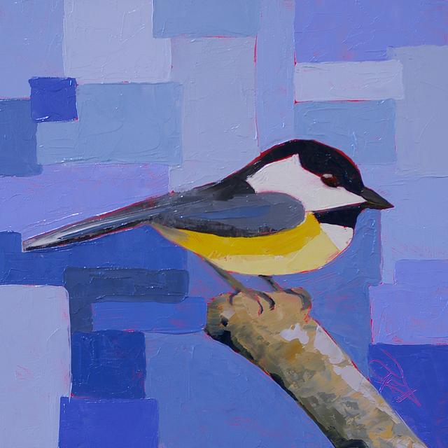 , 'Chickadee,' , Addison Art Gallery