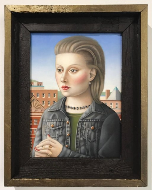, 'Woman with Black Denim Jacket,' , Front Room Gallery