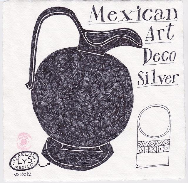 Victoria Behm, 'Mexican Art Deco Silver', 2012, 440 Gallery