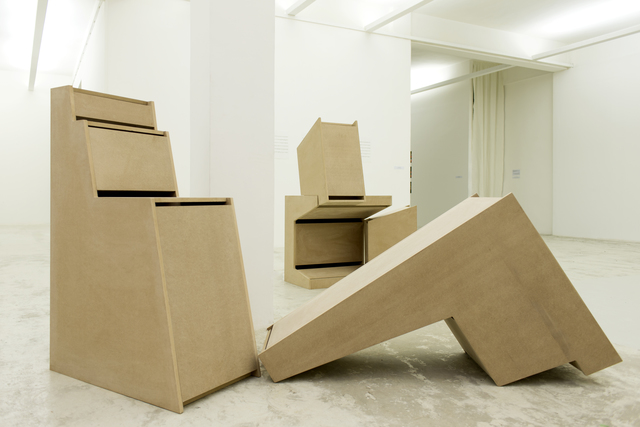 , 'Volumes for Sound,' 2010, Beirut Art Center