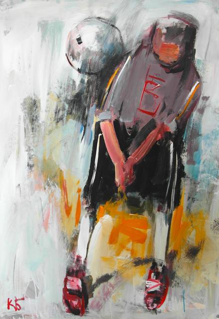 ", '""Football"" 8,' 2018, Krokin Gallery"