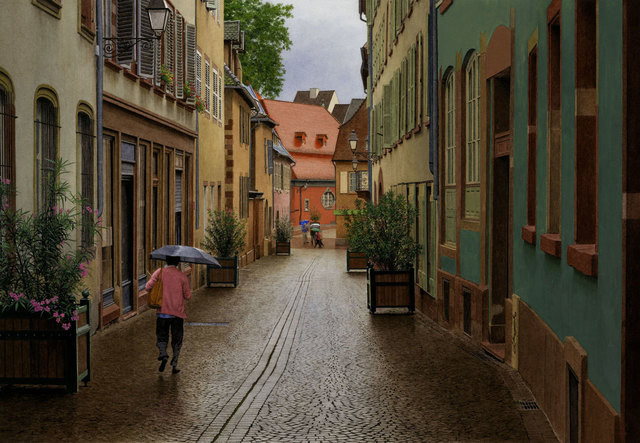 Steven Kozar, 'Old World Rainy Morning', Plus One Gallery