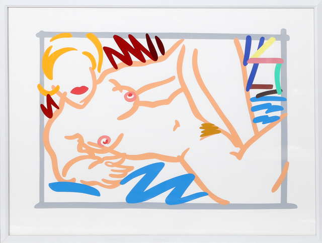 Tom Wesselmann, 'Judy on Blue Blanket', 2000, RoGallery