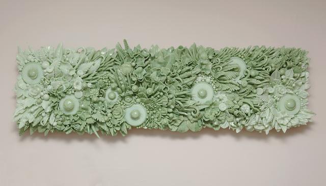 , 'RIVER GREEN & MINT      ,' 2015, Heller Gallery