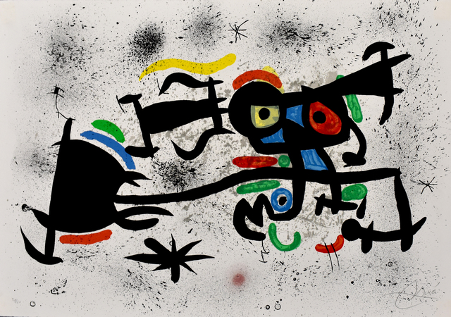 Joan Miró, 'China Town | Barrio Chino', 1971, Gilden's Art Gallery
