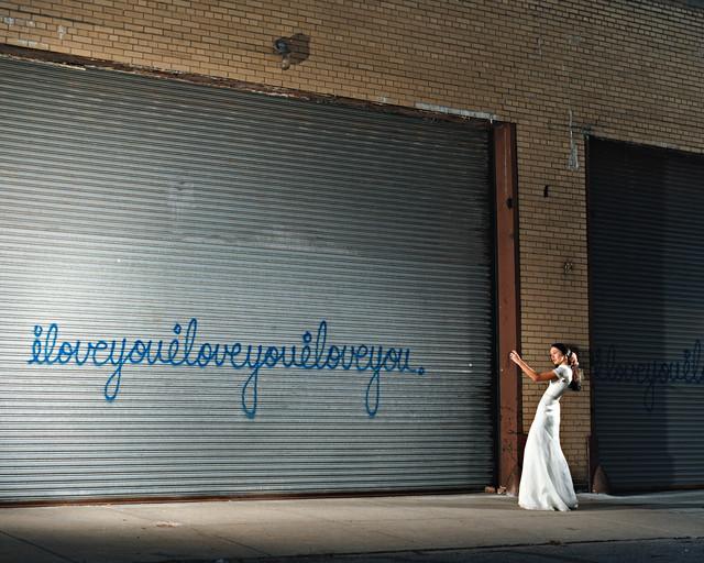 David Drebin, 'Iloveyou with Girl', 2006, Photography, C-Print, CAMERA WORK