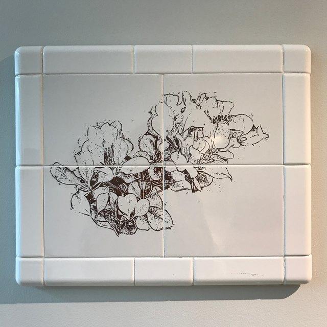, 'Flower Tile #7,' 2015, InLiquid