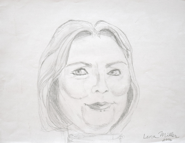 , 'Hillary,' 2016, Fountain House Gallery