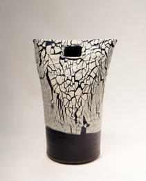Ariyama Reiseki, 'Flower Vase,' ca. 1990, Japan Society Benefit Auction 2016