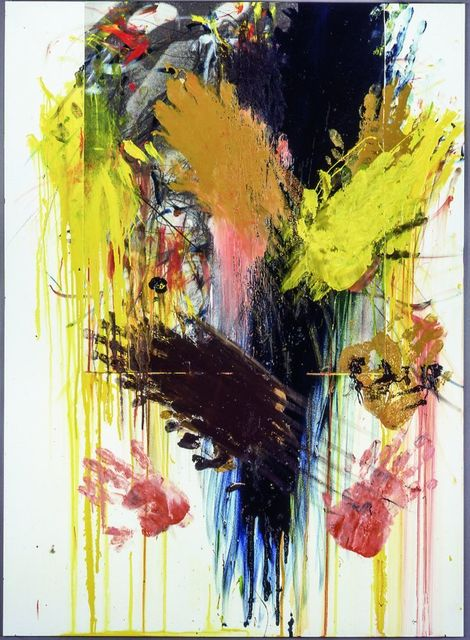 , 'Untitled (Overpainted Christ),' 1983, Galerie Ruberl