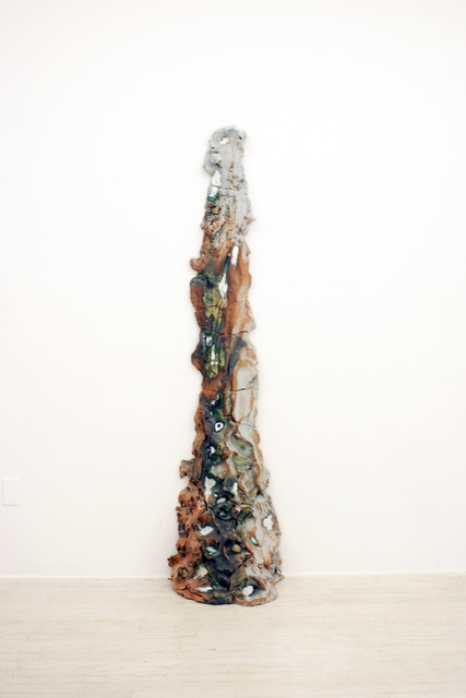 Brie Ruais, 'Red Push 1', 2017, Halsey McKay Gallery