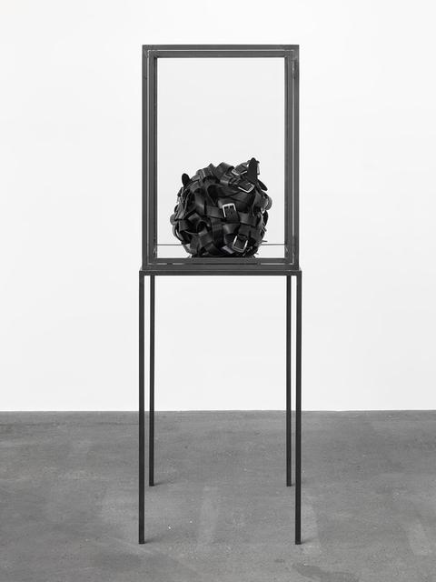 , 'Belts Ball,' 2015, KÖNIG GALERIE