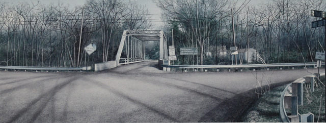 ", '40° 35' 9.639"" -75° 53' 42.5502"" (Iron Bridge, Route 143),' 2012, ACA Galleries"