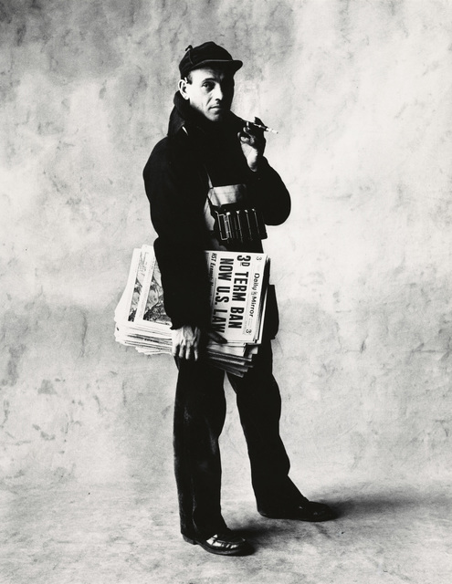 , 'News Dealer,' New York-1951, Pace/MacGill Gallery