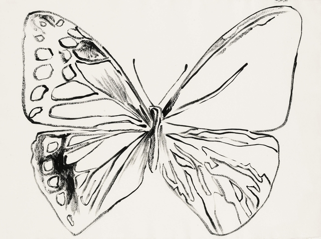 Andy Warhol, 'Vanishing Animals. Butterfly', 1986, BASTIAN