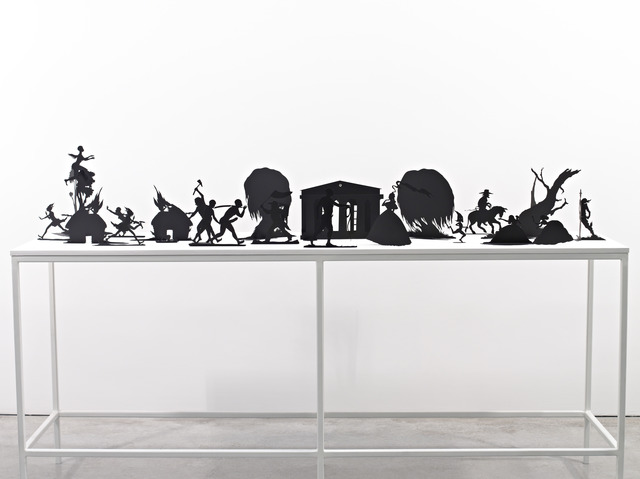 , 'Burning African Village Play Set with Big House and Lynching,' 2006, Sikkema Jenkins & Co.