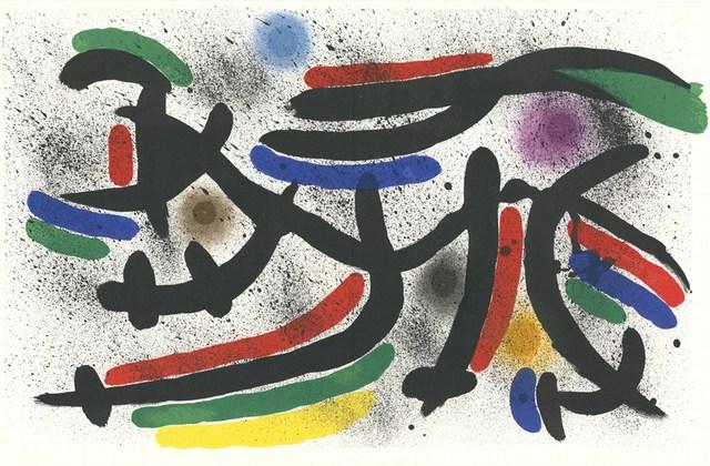 Joan Miró, 'Litografia Originale IX', 1972, Cerbera Gallery