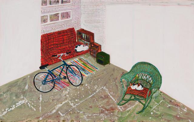 , 'Studio Cats,' 2016, Locks Gallery