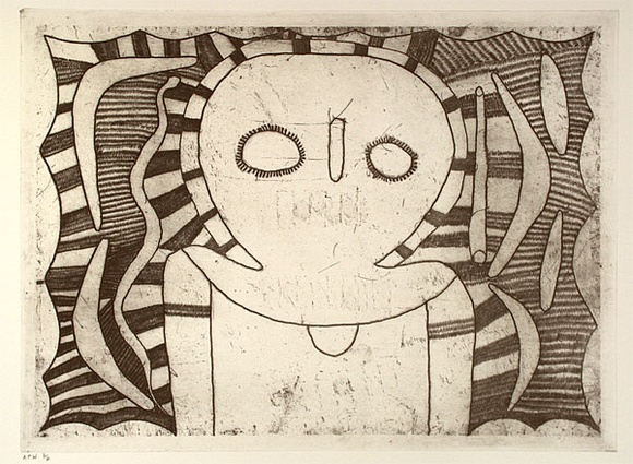 , 'Wandjina figure,' 1998, Rebecca Hossack Art Gallery