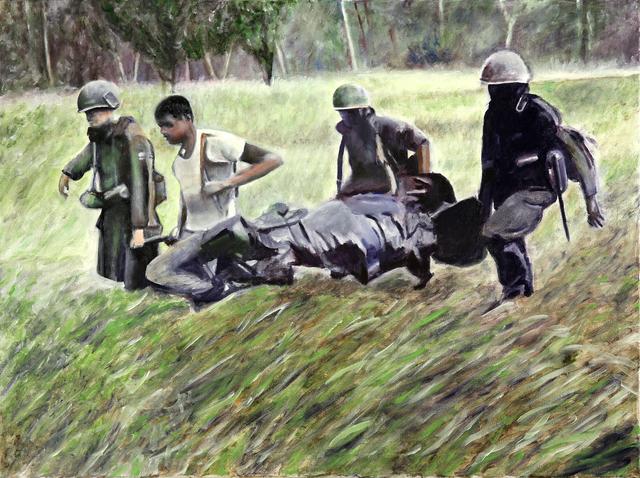 , 'Ia Drang - Vietnam - 11.18.1965,' 2013, DETOUR Gallery