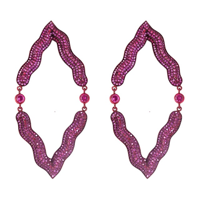, 'Red Victoria Earrings (Reflected),' , Jason Jacques Gallery