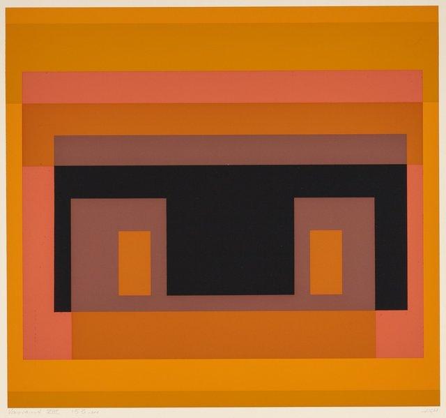 Josef Albers, 'Variant VIII, from Ten Variants', 1966, Heritage Auctions