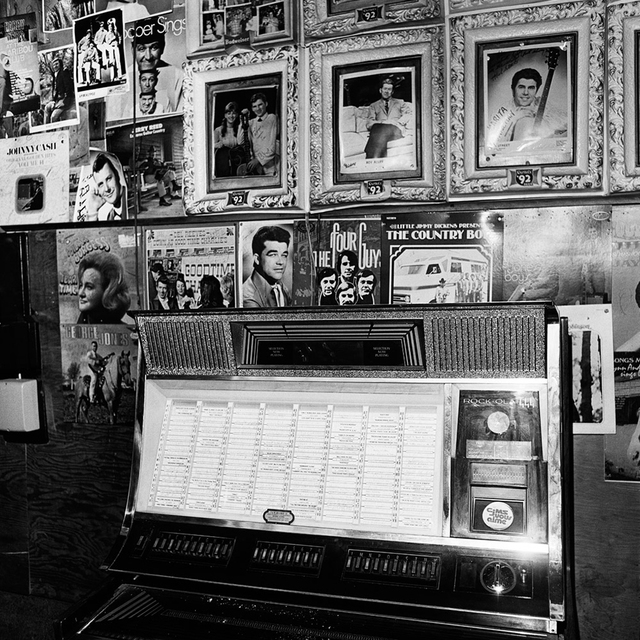 , 'Jukebox (Tootsie's Orchid Lounge, Nashville, TN),' 1972, ClampArt