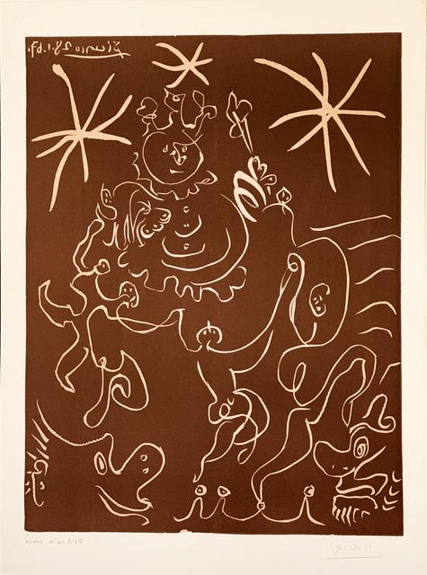 Pablo Picasso, 'Carnaval (Clown et Danseurs)', 1967, Fairhead Fine Art Limited