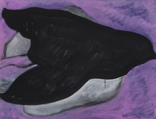 ", '""Corbeaux (Purple Puoi)"",' 2011, Michael Werner Gallery"