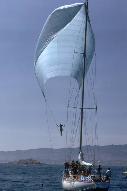 , 'Spinnaker Sailing, Sardinia (Aarons Estate Edition),' 1973, IFAC Arts