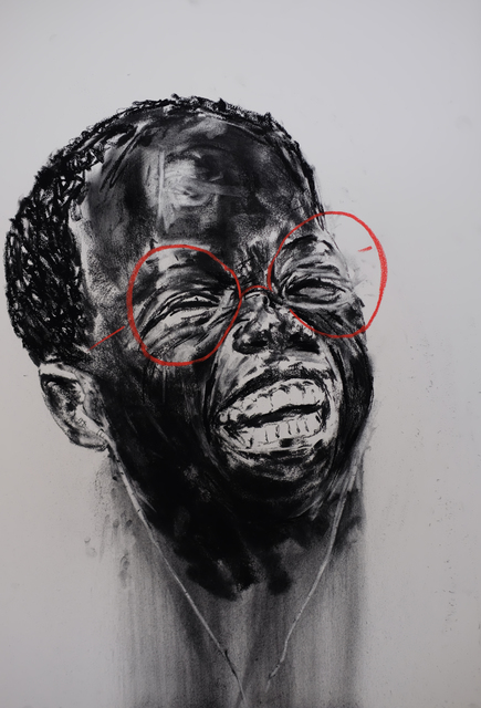 , 'See no evil, hear no evil, speak no evil No: 3,' 2017, Gallery of African Art (GAFRA)