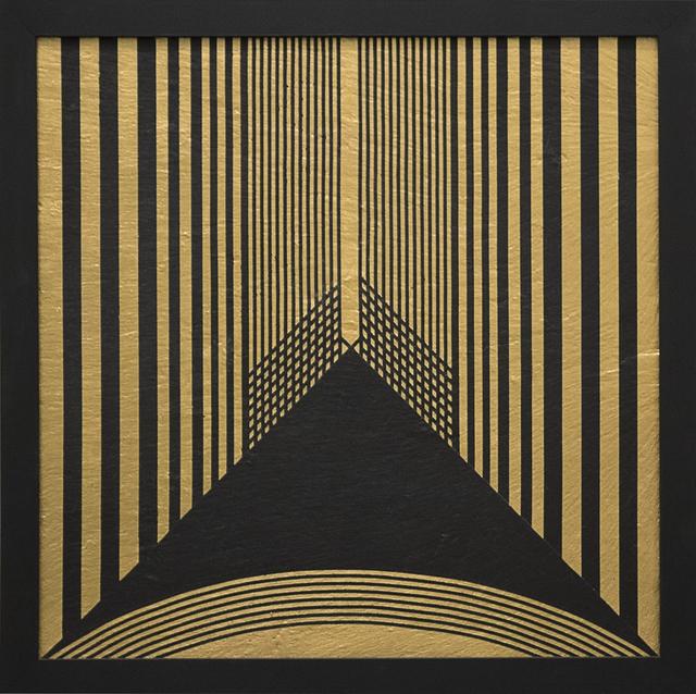 , 'Grammature d'oro K24 supporto lavagna n.1,' 1979, Primo Marella Gallery